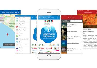 App per evento, Expo Mare Roma