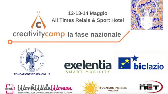App per il Business, il nostro contributo al Creativity Camp di Fidapa BPW Italy