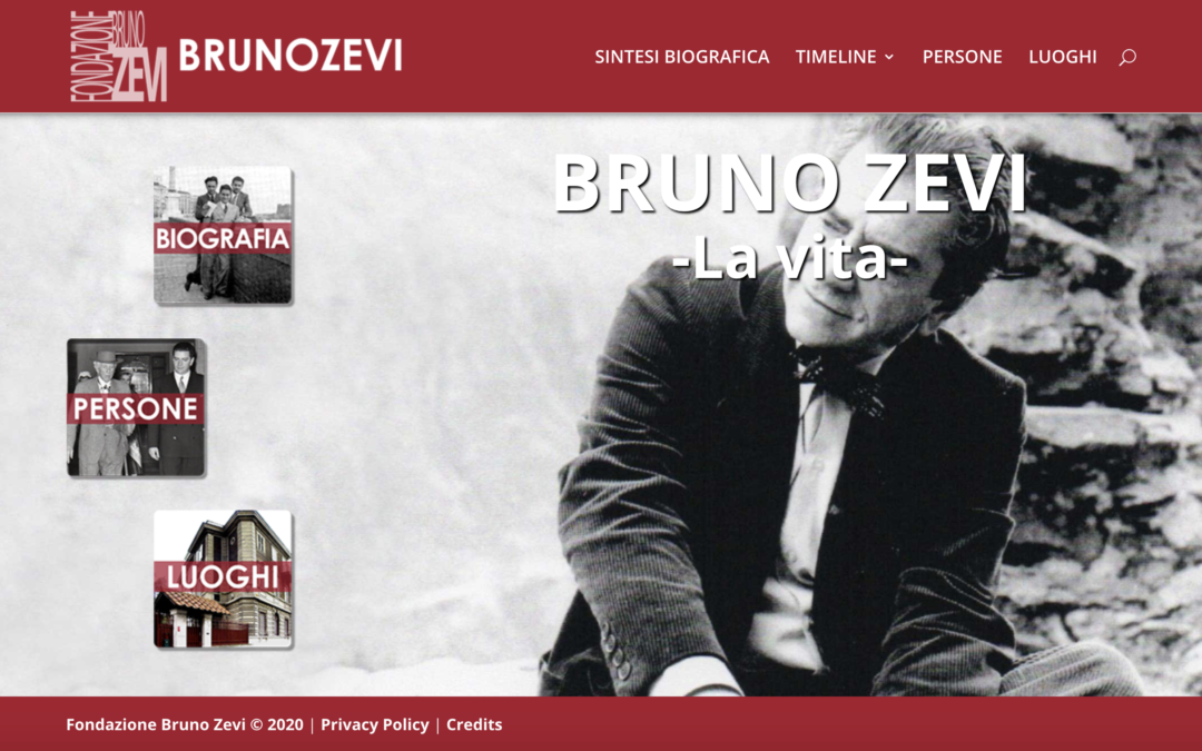 Un'App per Fondazione Bruno Zevi