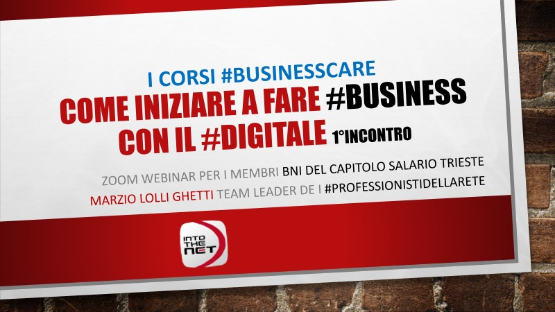Business Care i corsi di Into The Net